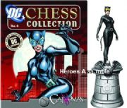 DC Chess Figurine Collection #05 Catwoman White Queen Eaglemoss